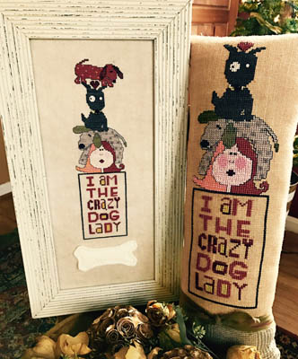 Amy Bruecken Designs Crazy Dog Lady