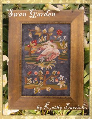 Swan Garden by Kathy Barrick