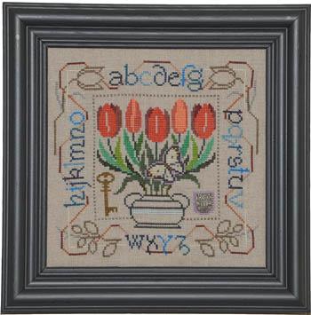 Tellin Emblem Potted Posies Sampler - Tulips