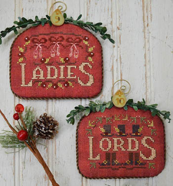 Ladies and Lords-12 Days by Hands On Designs
