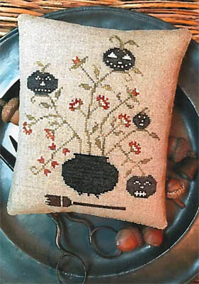 Stacy Nash Primitives Toil & Trouble Pinkeep