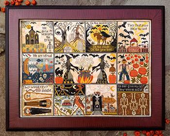 Halloween At Hawk Run Hollow by Carriage House Samplings