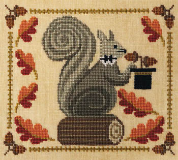 Squirrely Acorn Banquet by Artful Offerings