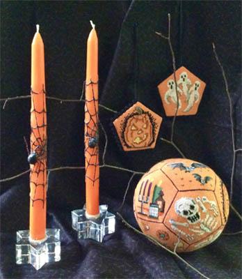 Halloween Ball by Amaryllis Artworks