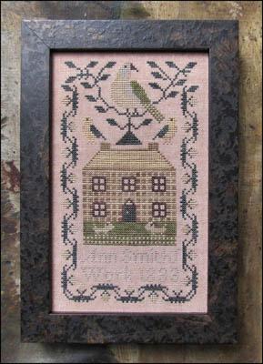 Kathy Barrick Miniature Quaker Sampler