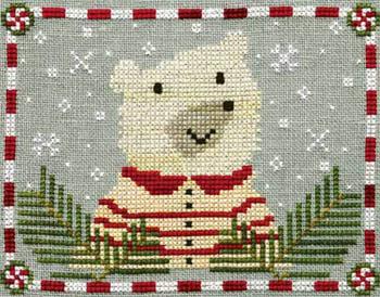 Artful Offerings Peppermint Polar Bear