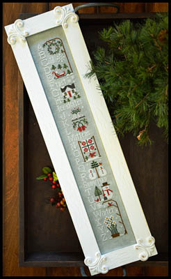 Winter ABC's by Little House Needleworks