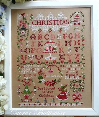 Cuore e Batticuore Christmas Sampler