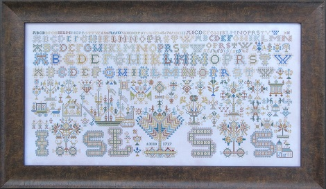 Queenstown Sampler Designs 1717 Friesland Sampler