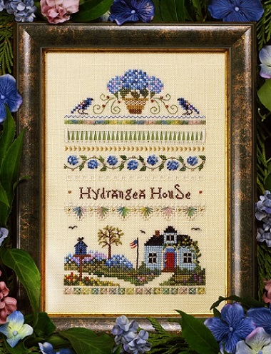 Hydrangea house by The Victoria Sampler