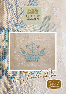 Cottage Garden Samplings Two Turtle Doves
