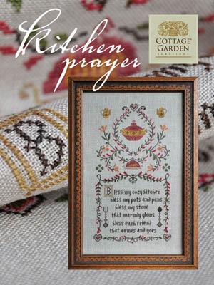 Kitchen Prayer by Cottage Garden Samplings