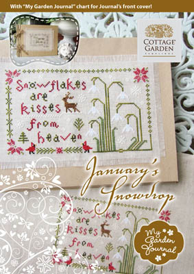 Cottage Garden Samplings January's Snowdrop