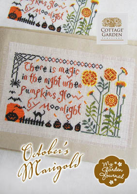 Cottage Garden Samplings October's Marigold