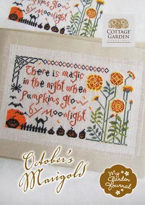 October's Marigold by Cottage Garden Samplings