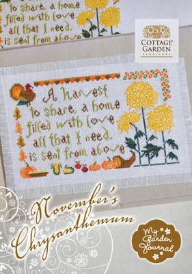November's Chrysanthemum by Cottage Garden Samplings