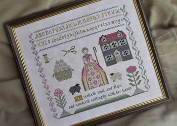 Needleworker's Samplers - Proverbs 3113 by Cottage Garden Samplings