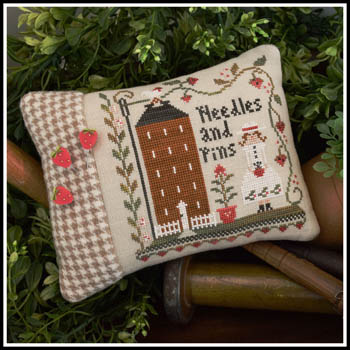 Keeper Of The Pins (W/threads) by Little House Needleworks
