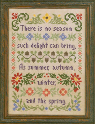 Elizabeth's Designs Needlework Delightful Seasons