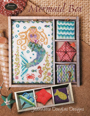 Mermaid Box by Jeannette Douglas Designs