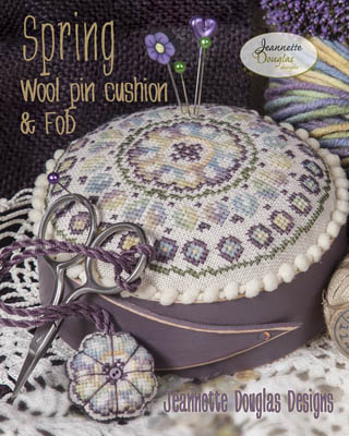 Spring Pincushion by Jeannette Douglas Designs