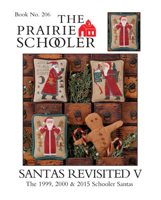 Santas Revisited V by Prairie Schooler