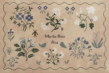Martha Pettit by Queenstown Sampler Designs