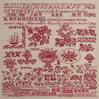 Queenstown Sampler Designs Mercedes Ospina 1863