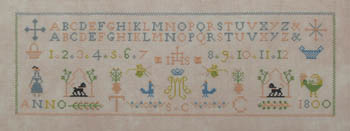 1800 TC SC Sampler by Queenstown Sampler Designs