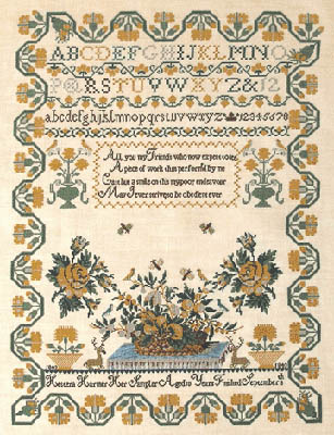 Hestera Harmer 1843 by Queenstown Sampler Designs