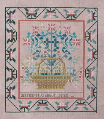 Queenstown Sampler Designs Margaret Gamble 1822