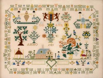 Queenstown Sampler Designs Dutch Sampler 1787