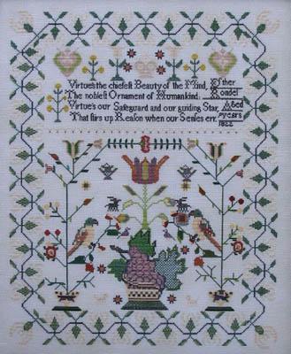 Queenstown Sampler Designs Esther Rondel 1822