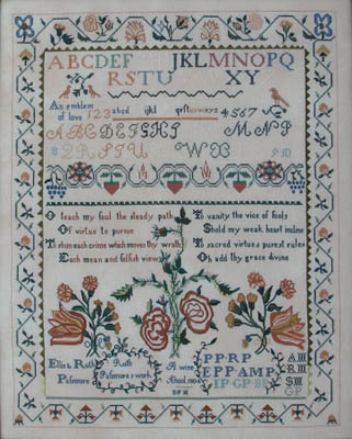 Queenstown Sampler Designs Ruth Passmore 1804
