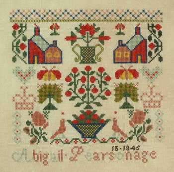 Queenstown Sampler Designs Abigail Pearson 1845