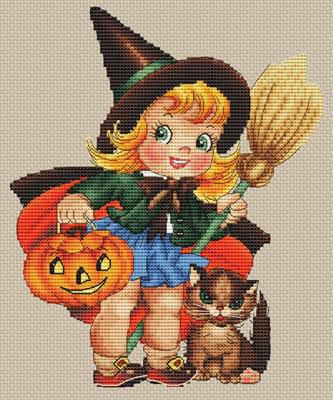En Route Pour Halloween by Les Petites Croix De Lucie