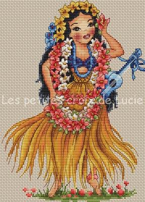 Hawaiian Girl by Les Petites Croix De Lucie