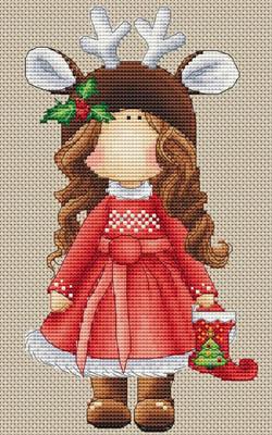 Renne De Noel by Les Petites Croix De Lucie