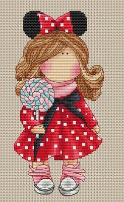 Minnie Mouse by Les Petites Croix De Lucie