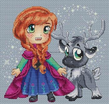 Anna And Sven by Les Petites Croix De Lucie