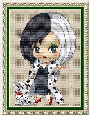 Cruella by Les Petites Croix De Lucie
