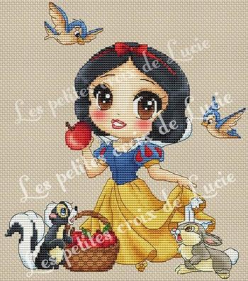 Snow White by Les Petites Croix De Lucie
