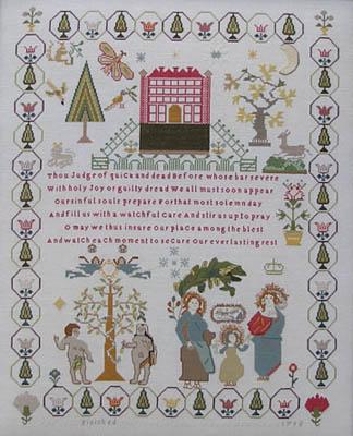 Queenstown Sampler Designs Ann Till Sampler 1795