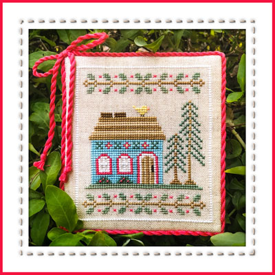 Welcome To The Forest 4 - BlueForest Cottage by Country Cottage Needleworks