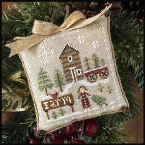 Farmhouse Christmas 6 - Pinewood Farm by Little House Needleworks