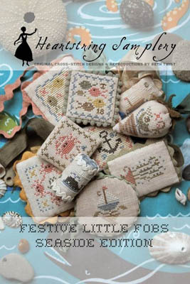 Festive Little Fobs 6 - Seaside Edition by Heartstring Samplery