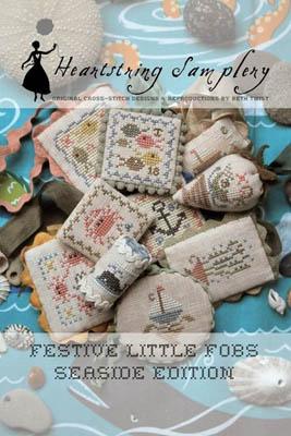 Heartstring Samplery Festive Little Fobs 6 - Seaside Edition