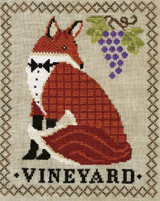 Red Fox Vineyard by Artful Offerings