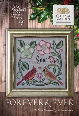 Songbird's Garden 1 - Forever& Ever by Cottage Garden Samplings