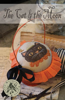Cat & The Moon by With Thy Needle & Thread